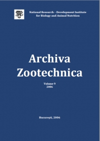 Archiva Zootehnica Vol. 9, 2006