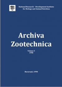 Archiva Zootehnica Vol. 5