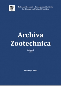 Archiva Zootehnica Vol. 2