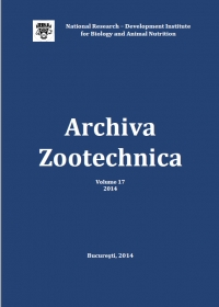 Archiva Zootechnica Vol. 17 - 2014